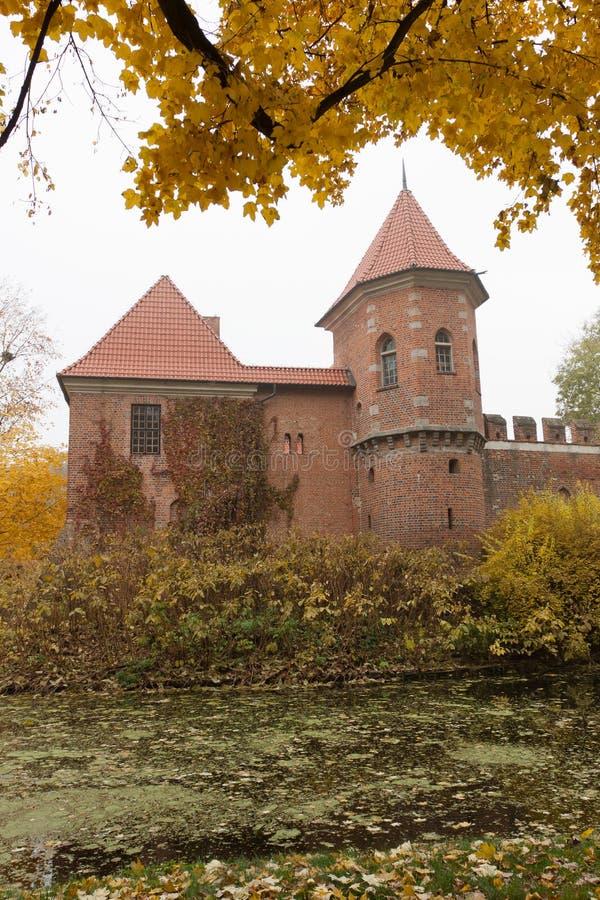 γοτθικό oporow Πολωνία κάστρων στοκ εικόνες με δικαίωμα ελεύθερης χρήσης