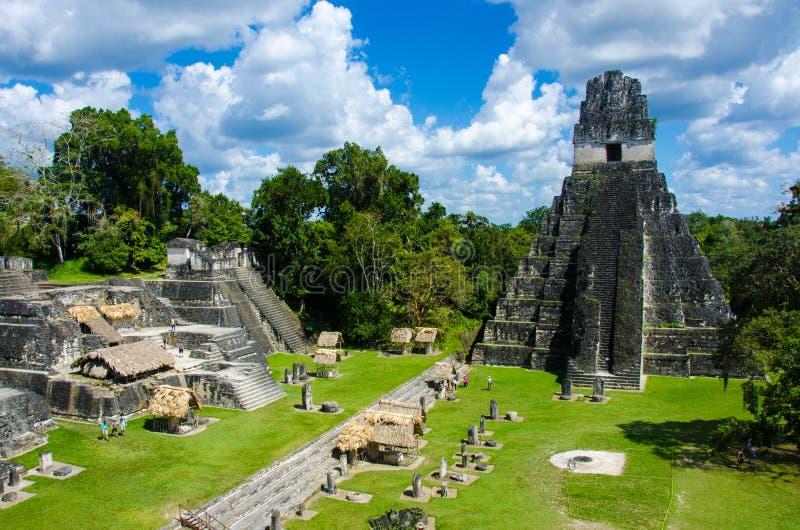 Γουατεμάλα tikal στοκ φωτογραφίες