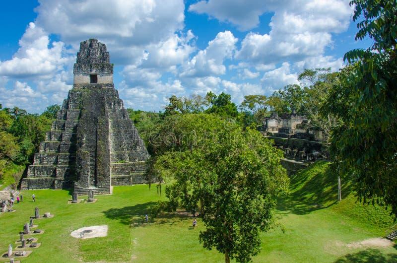 Γουατεμάλα tikal στοκ φωτογραφίες με δικαίωμα ελεύθερης χρήσης
