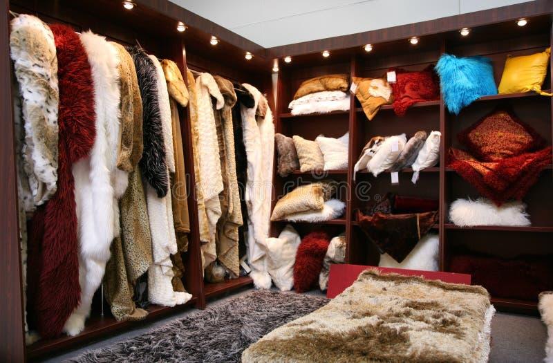 γούνα ντουλαπιών στοκ φωτογραφία με δικαίωμα ελεύθερης χρήσης