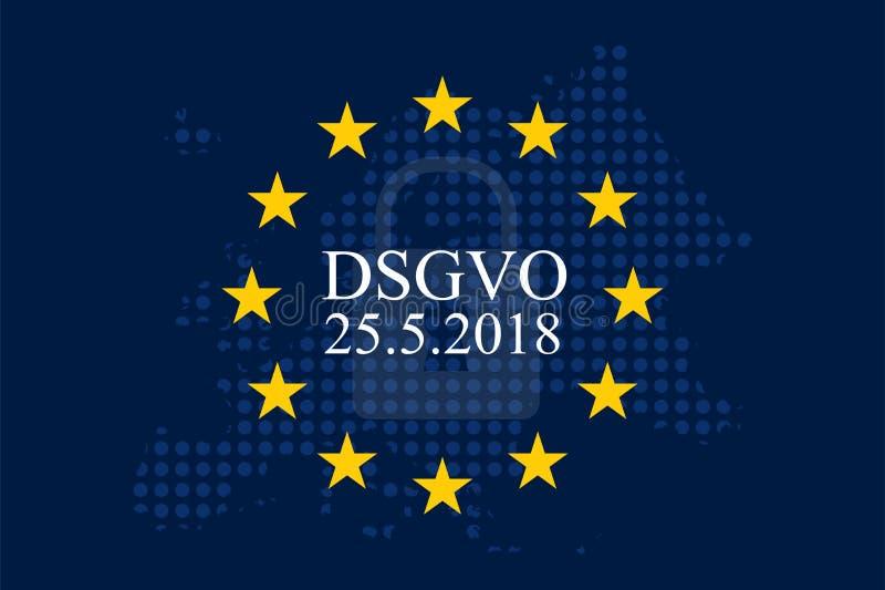 Γούνα Unternehmen DSGVO Grundverordnung Datenschutz ελεύθερη απεικόνιση δικαιώματος