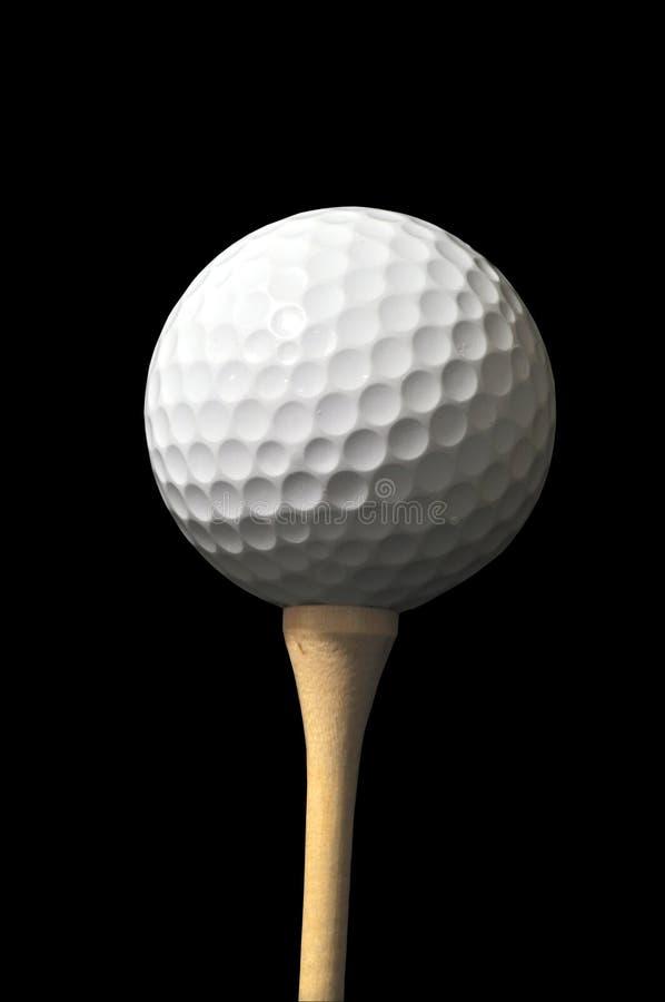 γράμμα Τ γκολφ σφαιρών στοκ εικόνες με δικαίωμα ελεύθερης χρήσης