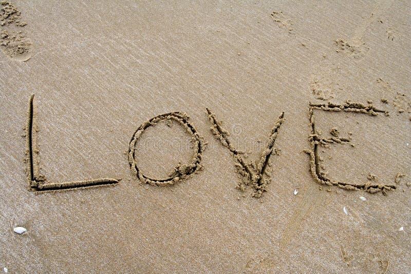 γράψιμο άμμου στοκ εικόνες