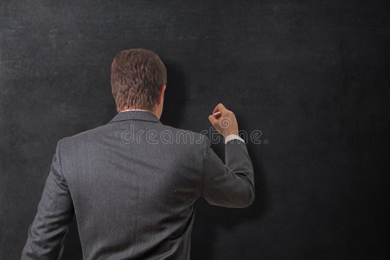 Γράψιμο στον πίνακα στοκ εικόνες