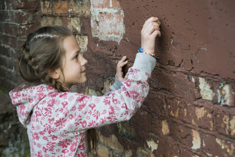 Γράψιμο στον τοίχο στοκ φωτογραφία με δικαίωμα ελεύθερης χρήσης