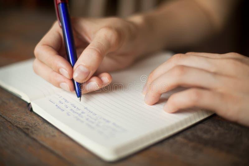 Γράψτε στοκ φωτογραφία