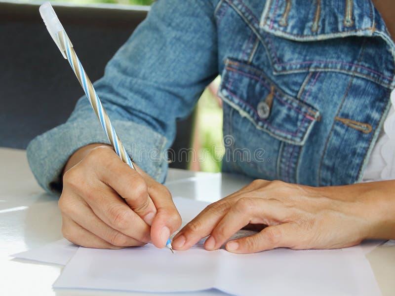 γράψτε στοκ εικόνα