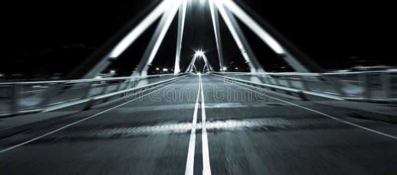 γρήγορη κίνηση γεφυρών στοκ εικόνες