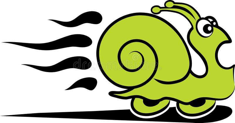 γρήγορο σαλιγκάρι ελεύθερη απεικόνιση δικαιώματος