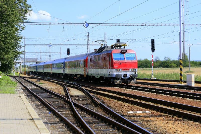 Γρήγορο τραίνο στοκ εικόνα με δικαίωμα ελεύθερης χρήσης