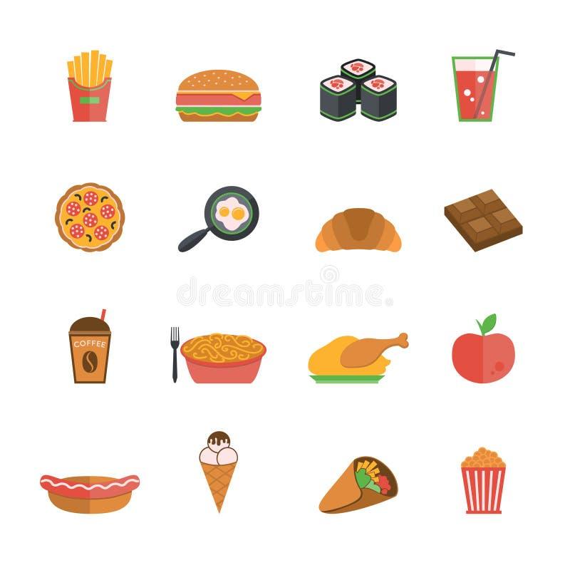 Γρήγορο φαγητό διανυσματική απεικόνιση