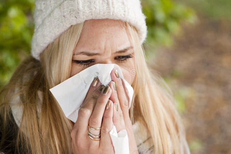 Γρίπη στοκ φωτογραφίες