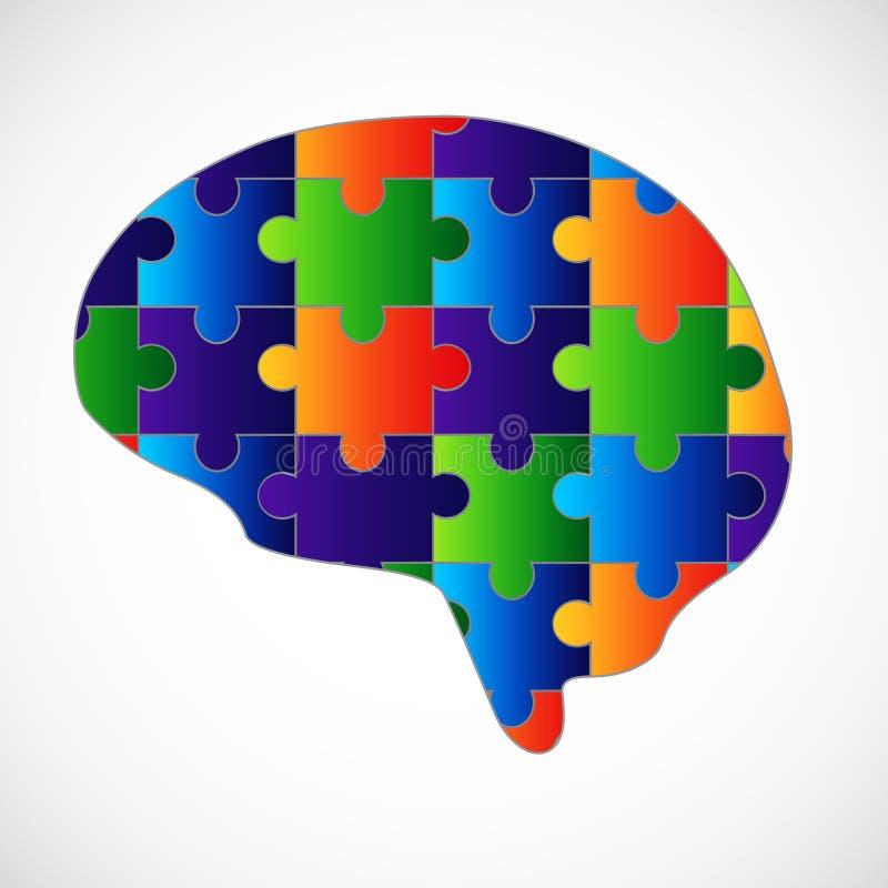 Γρίφος μυαλού απεικόνιση αποθεμάτων