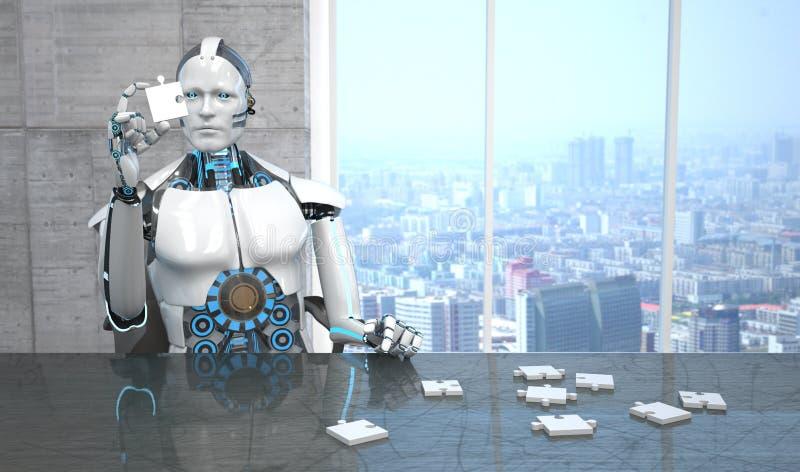 Γρίφος ρομπότ απεικόνιση αποθεμάτων
