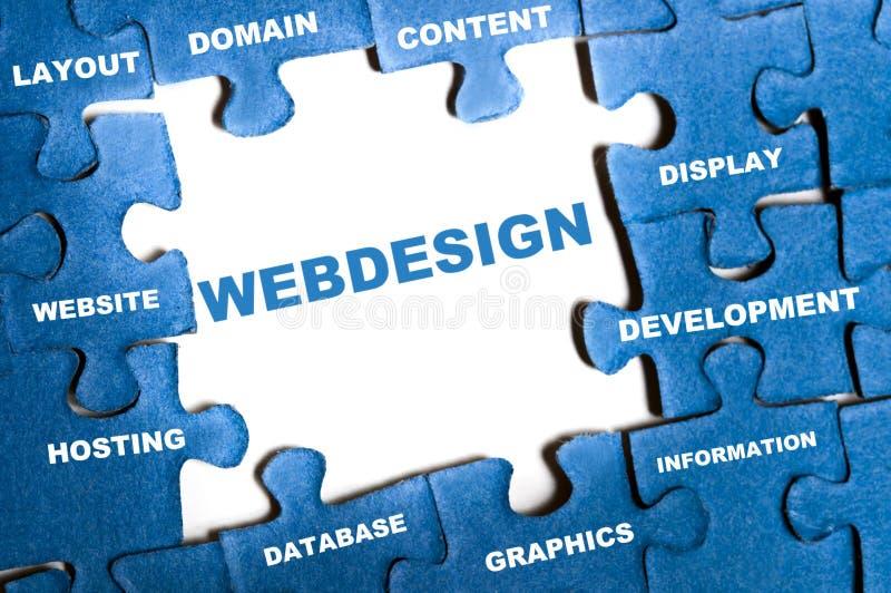 γρίφος webdesign στοκ εικόνα