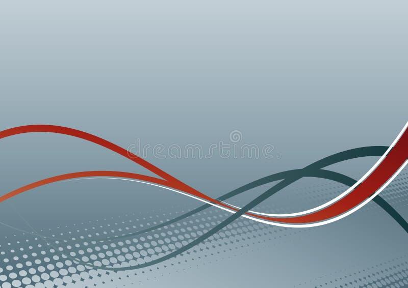 γραμμές ανασκόπησης κυμα&ta διανυσματική απεικόνιση