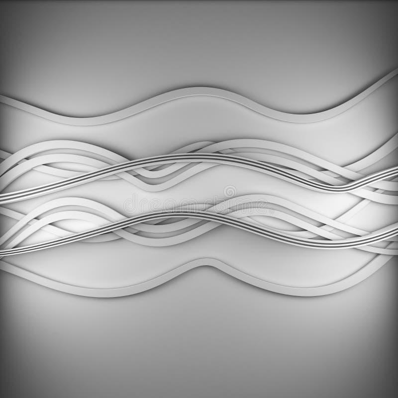 Γραμμές κυμάτων backgound διανυσματική απεικόνιση