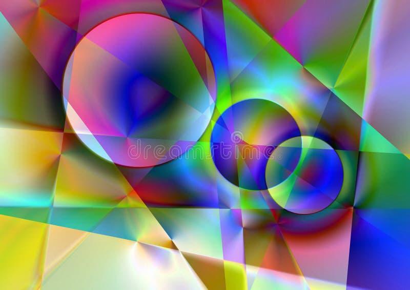 γραμμές κύκλων στοκ εικόνες