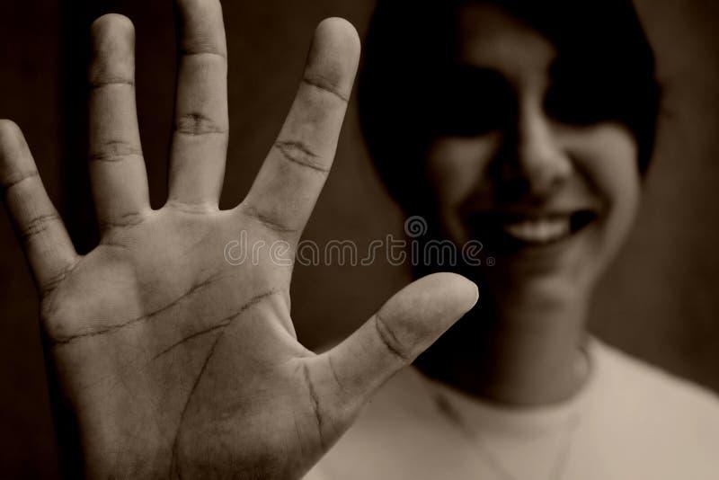 γραμμές χεριών στοκ εικόνα με δικαίωμα ελεύθερης χρήσης
