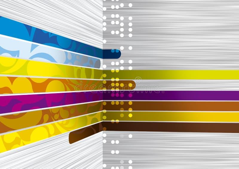 γραμμές χρωμάτων στοκ φωτογραφία