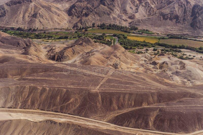 Γραμμές Nazca και geoglyphs στοκ φωτογραφία με δικαίωμα ελεύθερης χρήσης