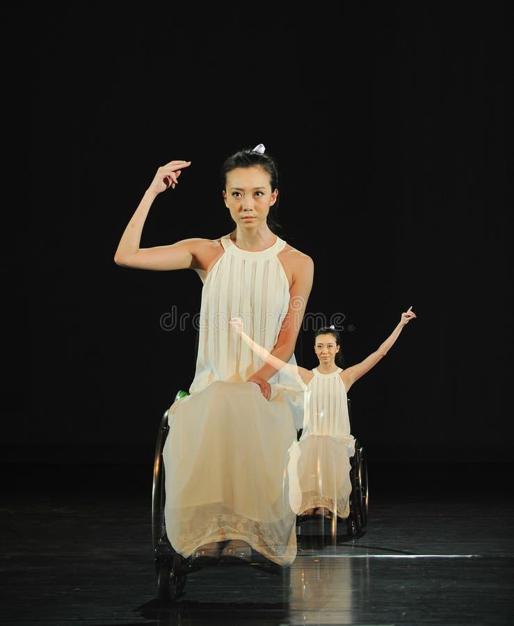 Γραμμή ¼ šRed αμφιβολία-χορού musicalï στοκ εικόνες
