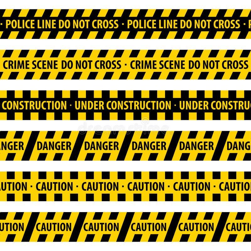 Γραμμή αστυνομίας. απεικόνιση αποθεμάτων