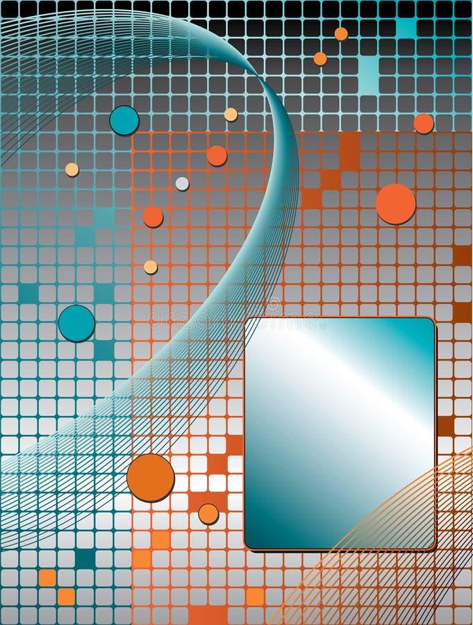 γραμμή δικτύου ανασκόπησης διανυσματική απεικόνιση