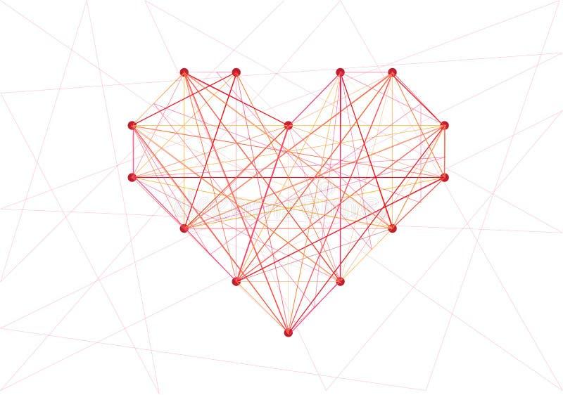 Γραμμή καρδιάς ελεύθερη απεικόνιση δικαιώματος