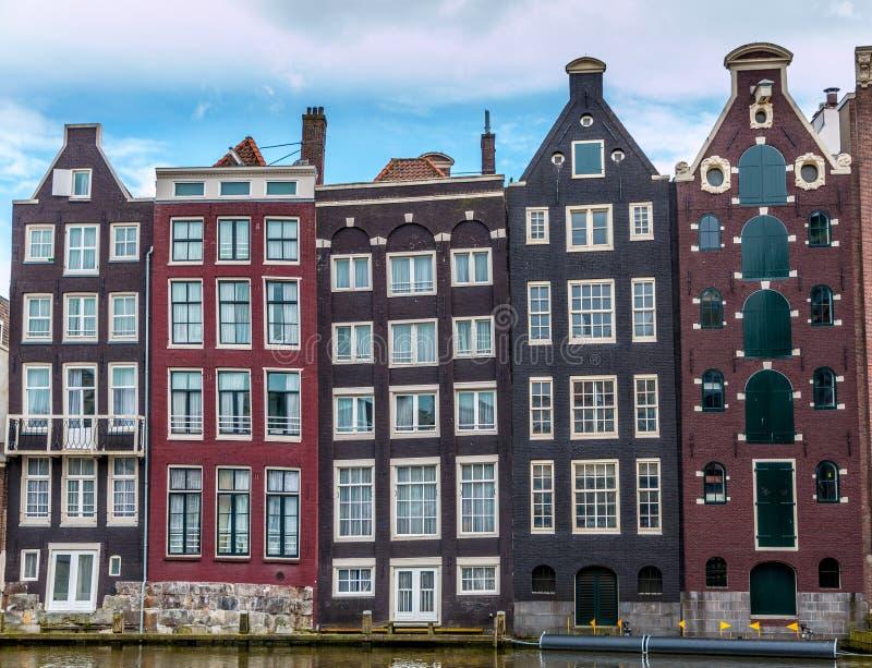 Γραμμή ουρανού του Άμστερνταμ. στοκ φωτογραφίες