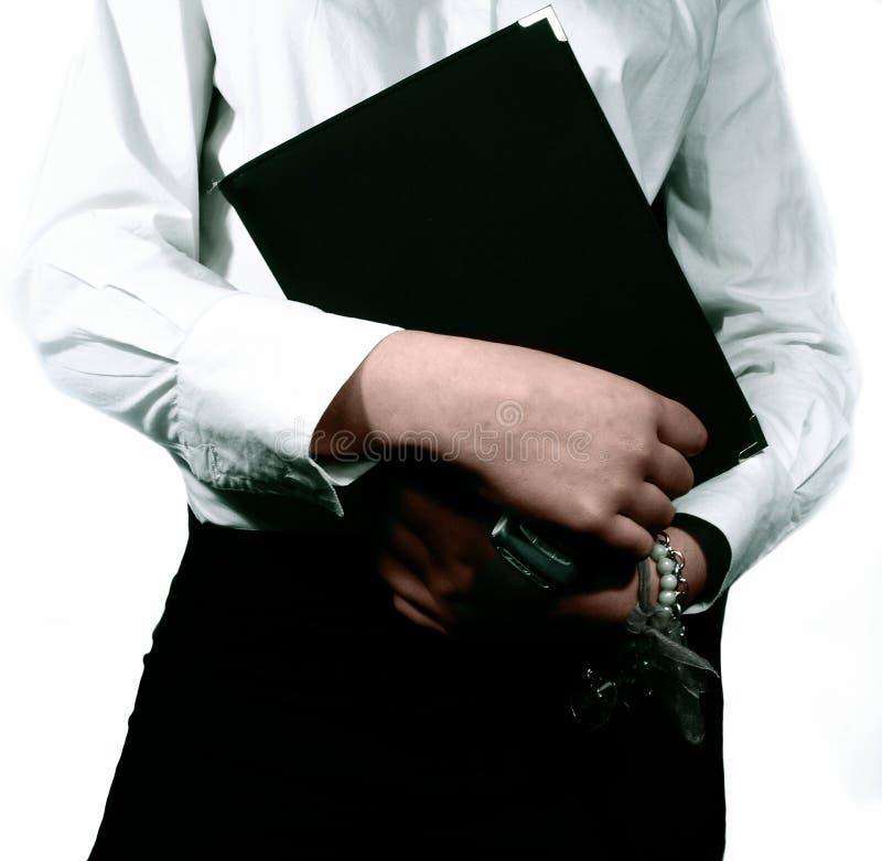 γραμματέας επιχειρηματιώ&n στοκ φωτογραφία με δικαίωμα ελεύθερης χρήσης