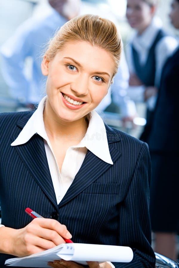 γραμματέας ισχυρός στοκ φωτογραφία με δικαίωμα ελεύθερης χρήσης