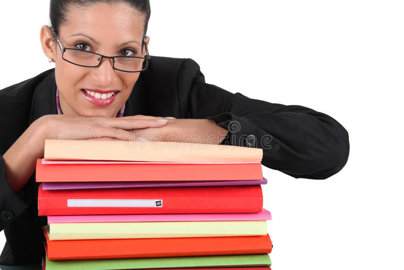 Γραμματέας στοκ φωτογραφία με δικαίωμα ελεύθερης χρήσης
