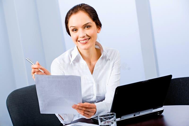 γραμματέας στοκ εικόνα με δικαίωμα ελεύθερης χρήσης