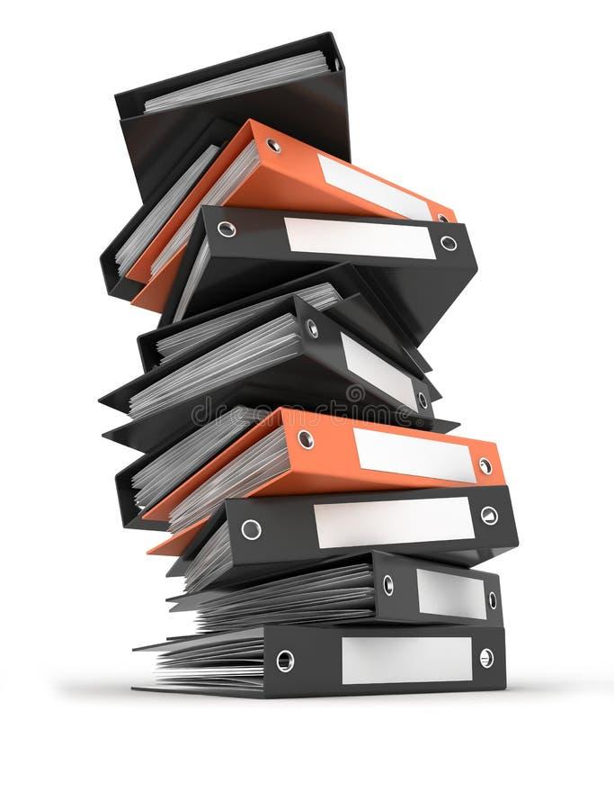 γραμματοθήκες αρχείων ελεύθερη απεικόνιση δικαιώματος