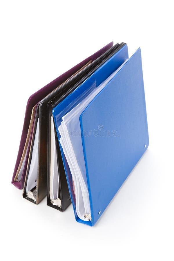 γραμματοθήκες αρχείων στοκ εικόνα
