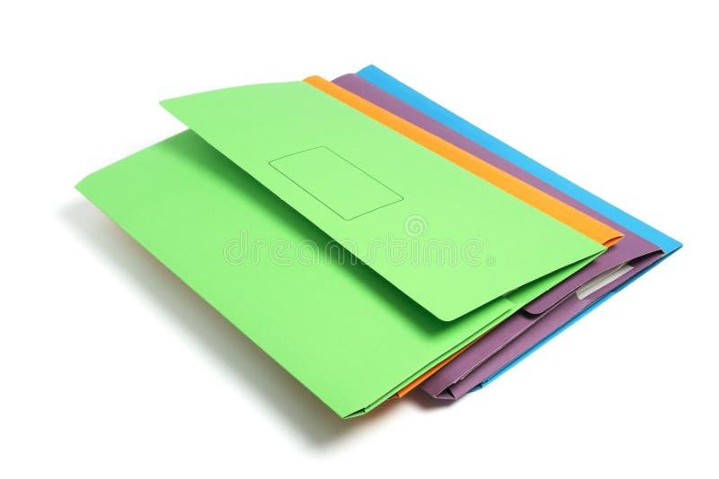 γραμματοθήκες εγγράφων στοκ φωτογραφία με δικαίωμα ελεύθερης χρήσης