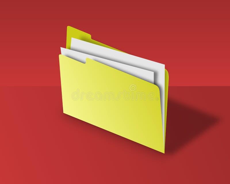 γραμματοθήκη διανυσματική απεικόνιση