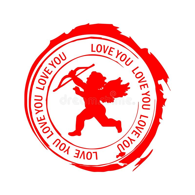 γραμματόσημα αγάπης στοκ φωτογραφίες με δικαίωμα ελεύθερης χρήσης