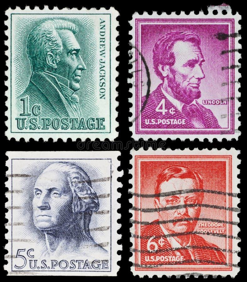 γραμματόσημα εμείς εκλε& στοκ φωτογραφίες