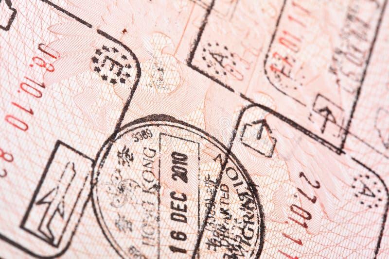 γραμματόσημα εξόδων εισόδ&om στοκ φωτογραφίες