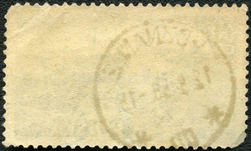 γραμματόσημο αντίστροφης πλευράς ταχυδρομικών τελών στοκ εικόνες με δικαίωμα ελεύθερης χρήσης