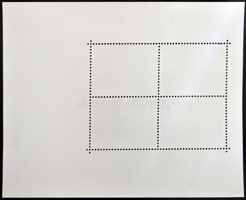 γραμματόσημο αντίστροφης &p στοκ εικόνα