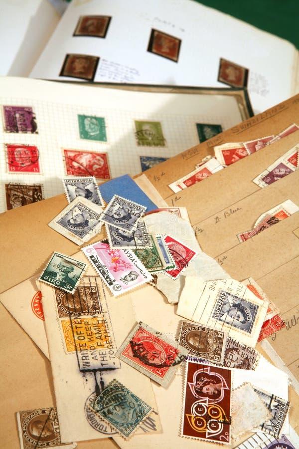 γραμματόσημο βιβλίων στοκ εικόνες με δικαίωμα ελεύθερης χρήσης