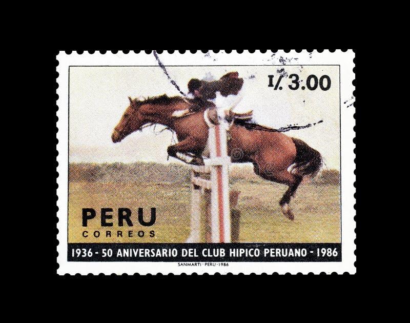 Γραμματόσημο που τυπώνεται από το Περού στοκ εικόνες με δικαίωμα ελεύθερης χρήσης