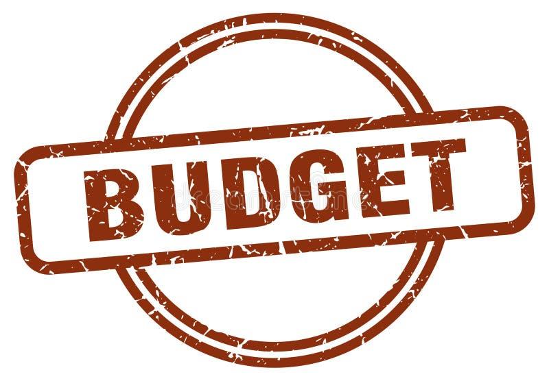 γραμματόσημο προϋπολογισμών ελεύθερη απεικόνιση δικαιώματος