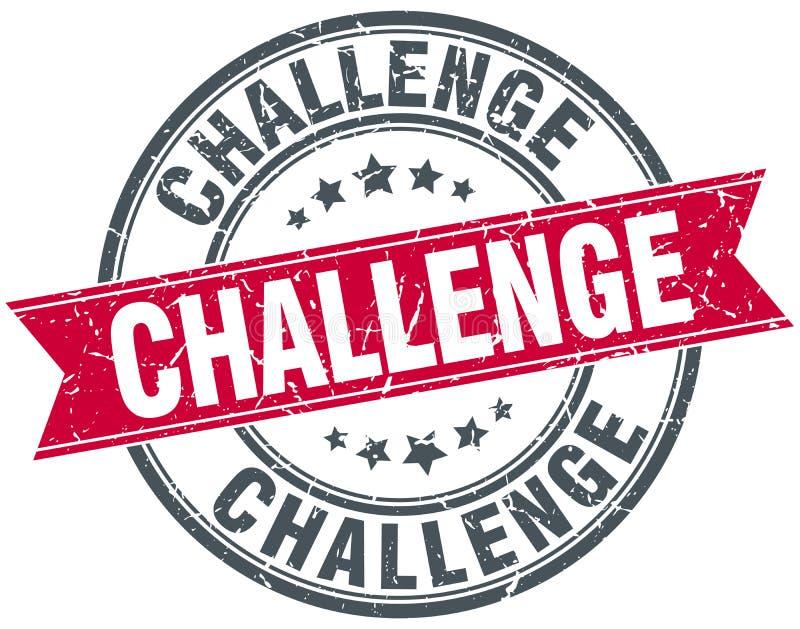 Γραμματόσημο πρόκλησης απεικόνιση αποθεμάτων