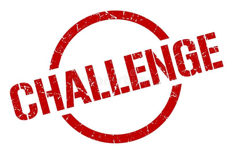 Γραμματόσημο πρόκλησης ελεύθερη απεικόνιση δικαιώματος