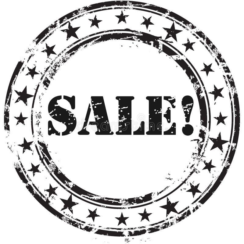 Γραμματόσημο πώλησης απεικόνιση αποθεμάτων
