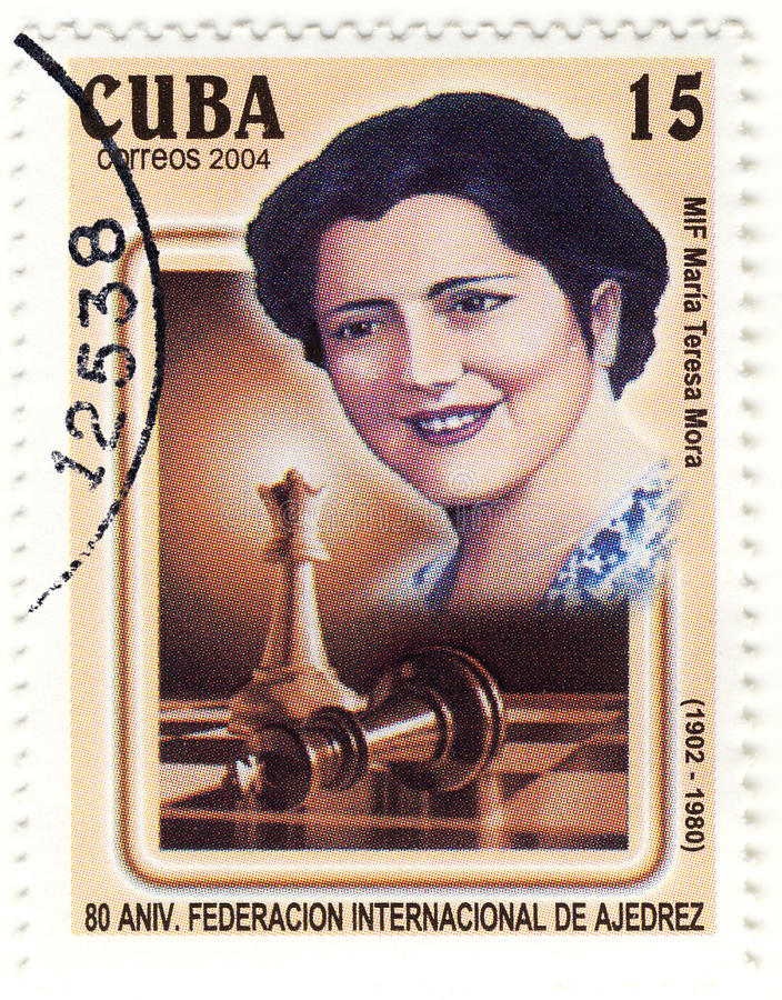 γραμματόσημο Τερέζα mora της Μ&a στοκ φωτογραφία με δικαίωμα ελεύθερης χρήσης